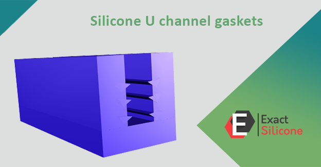 Silicone U channel gaskets